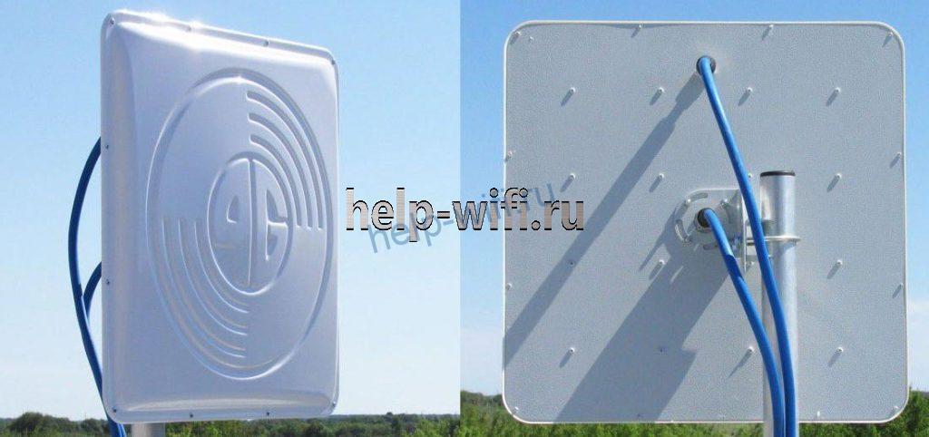 Антенна для улавливания сигнала мобильной сети